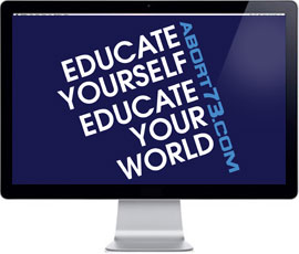 Educate Yourself. Educate Your World. / Abort73 Wallpaper