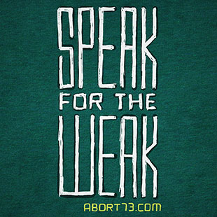 Speak for the Weak
