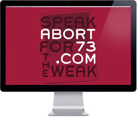 Speak for the Weak / Abort73 Wallpaper
