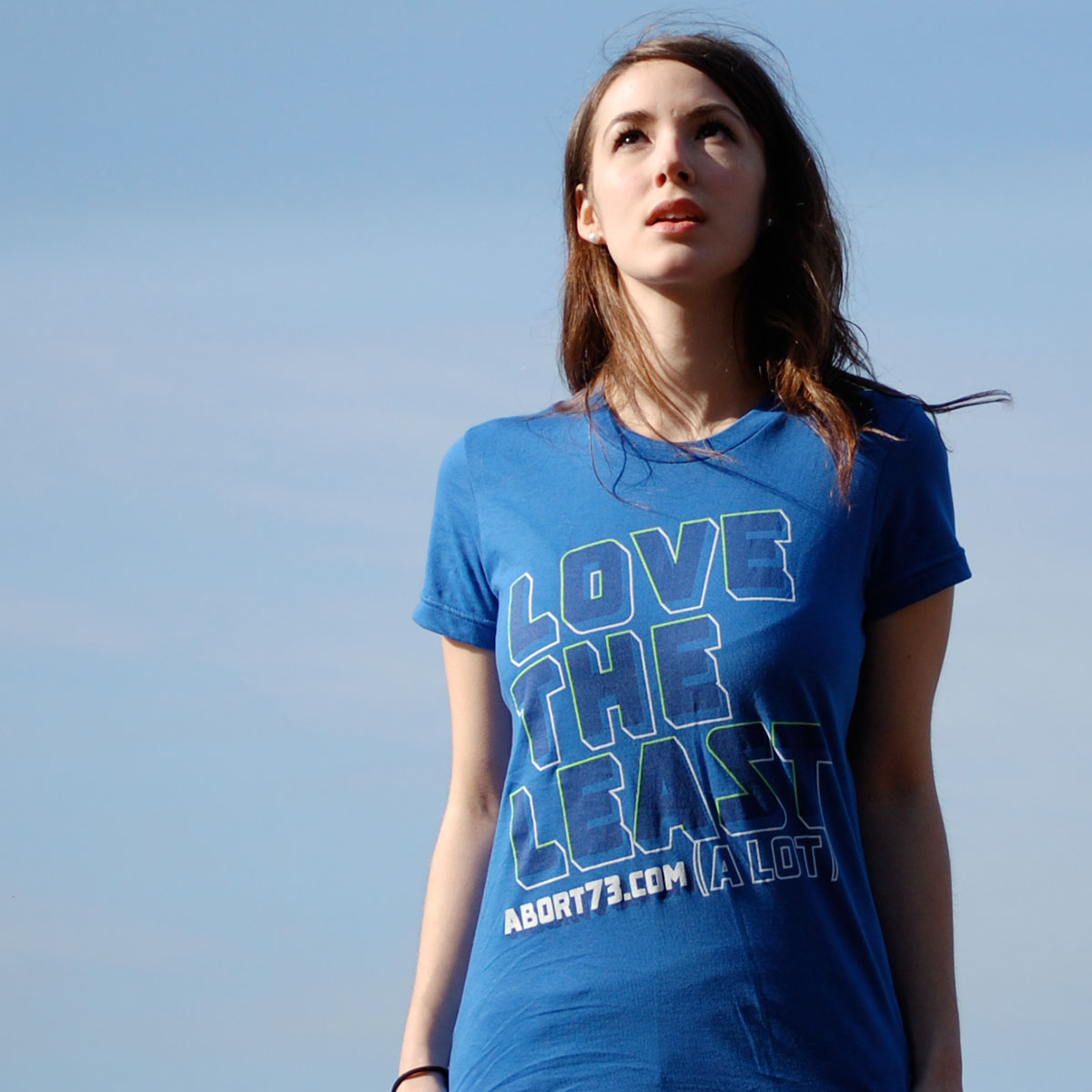 Love the Least (A Lot) (Abort73 Girls T-shirt)