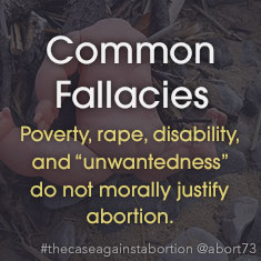 Common Abortion Fallacies