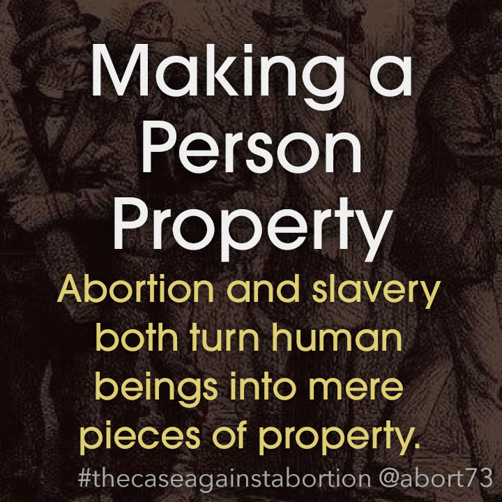 Making a Person Property: Repeating history, the Court again turned certain human beings into property.